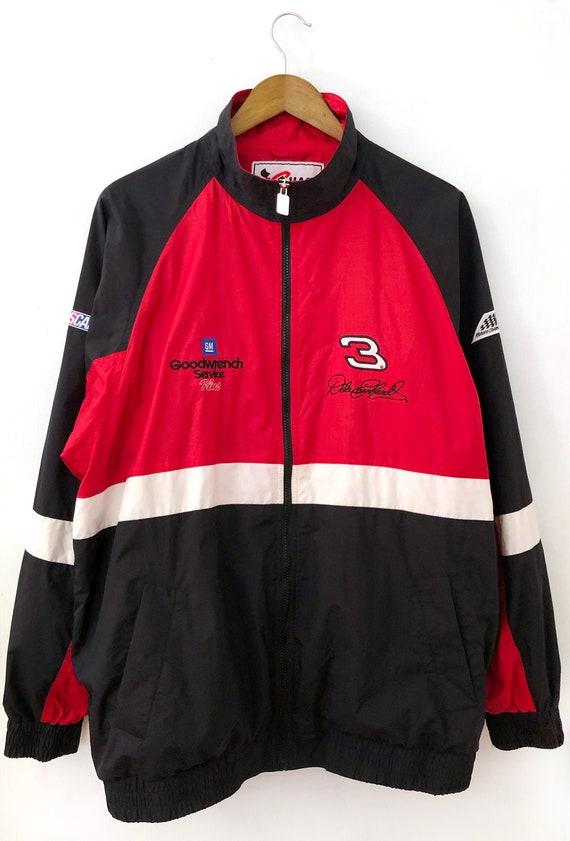 Vintage Furygan Racing Jacket Vtg Y2K Motorcycle NASCAR Nextel Cup Series Coat Black USA Rare Racer Mens Small