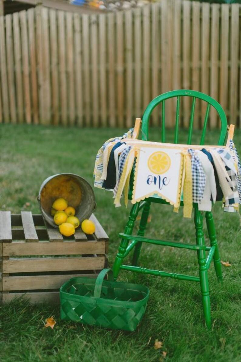 1st birthdaybabybshowerbirthdaybridal shower Lemon Party Banner