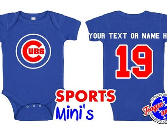 promo code 6d60e 6089c chicago cubs baby jersey