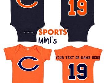 cb78cfba Chicago bears baby | Etsy