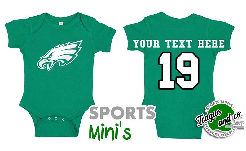 custom baby eagles jersey