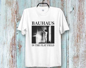 e0b0db296c Bauhaus In The Flat Field English Post Punk Band Retro Cool Vintage Unisex  Tee Top Hipster T Shirt 433B