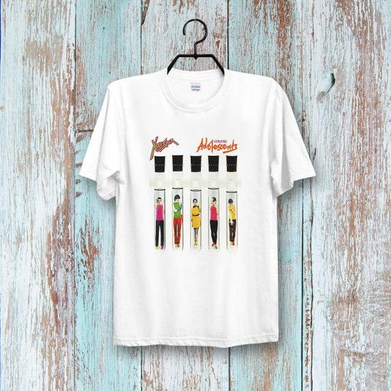 X Ray Spex Germfree Adolescents Cool Tee Top Unisex/& Ladies T Shirt B216