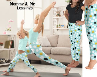 Easter Gift Women/'s Kids Best Gift YOGA LEGGINGS SETS| Mommy and Me Youth Mother/'s Day Gift Yoga Set Girls Yoga Pants