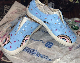 5696719ba825 Painted Doughnut Shoes