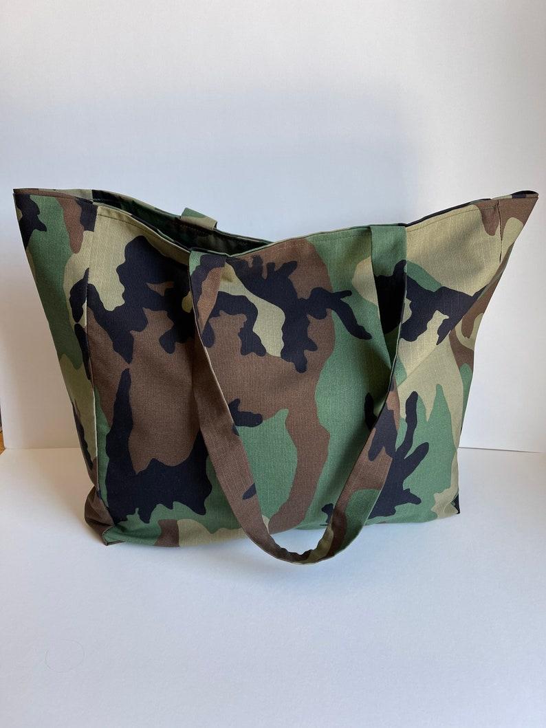 Woodland Camo Tote Bag