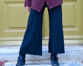 The zip quilot, cropped pants, hemp-organic cotton, nomadic / boho / urban