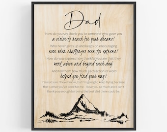 Dad Birthday Gift Paperweight Gift for Dad Dad Gift from Daughter My Hero My Dad Sentimental Father Gift