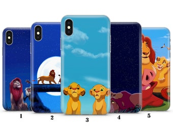 9c6c3150a642a9 LION KING CASE for iphone, samsung,huawei. Disney, skies, simba, king, lion,  pumba, timon,cover, plastic, gel