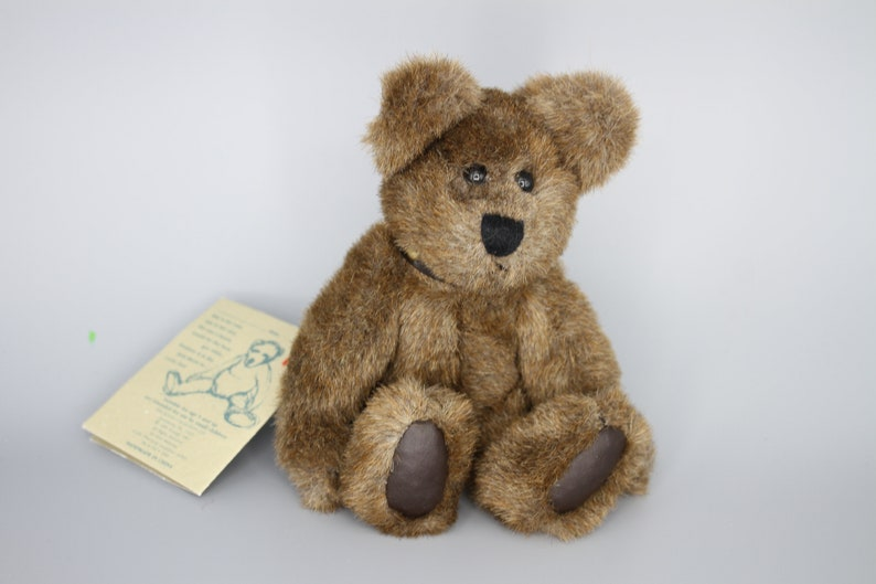 6\u201d Boyd\u2019s Bears Humboldt Classic Plush Golden Teddy Award Winner