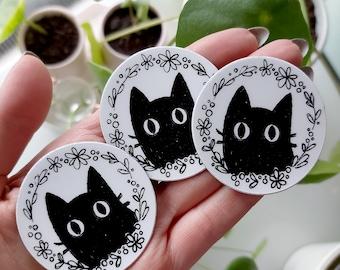 MAGNETS - Black kitty