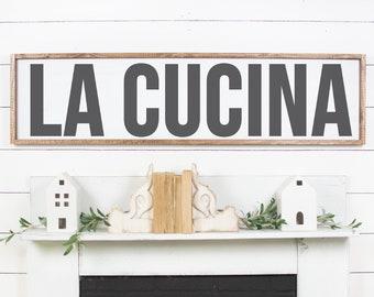 Tuscan Decor / Italian kitchen signs / Dining room art / | Etsy