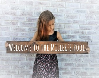 Swimming pool gifts   Etsy