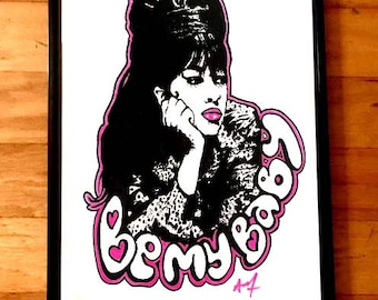 Be My Baby Limited Edition art print by pop artist Adam Turkel The Ronettes Ronnie Spector Girl Groups 60s MOD