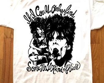 THE CRAMPS T-Shirt by Pop Artist Adam Turkel Lux Interior Poison Ivy Psychobilly Garage Rock Punk Rock Cult Indie