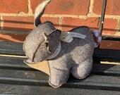 Bunny Doorstop - Herringbone
