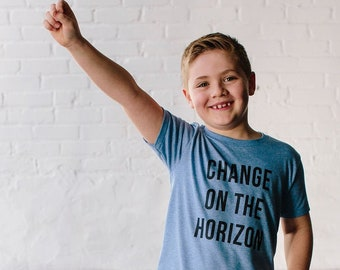 HORIZON - Youth T-shirt • Change on the Horizon T-Shirt - Vote T-Shirt - Youth T-shirt