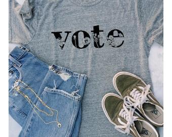VOTE T-Shirt  • Rock the Vote T-Shirt • Unisex Vote T-Shirt