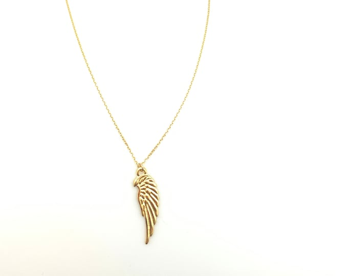 Gold chain, charms, for mom, for women, angel wings, chain, in memory, memory jewelry, gold charms, dainty necklace, gold filled necklace