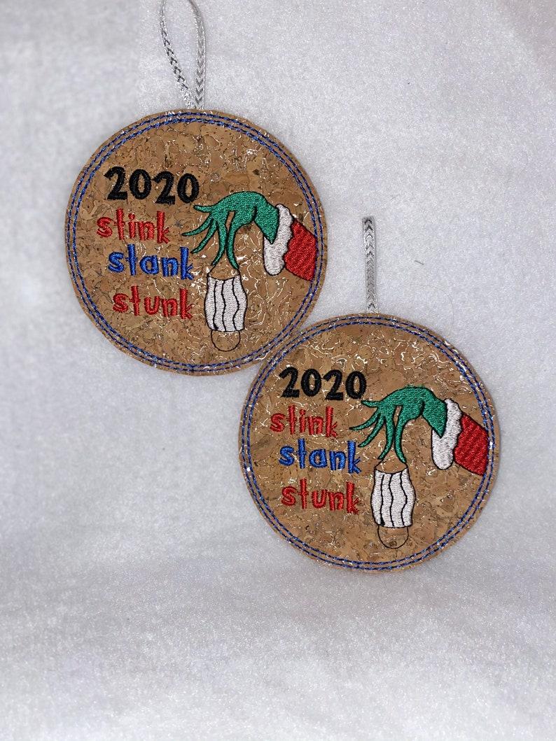 Stink Stunk Stank Ornament