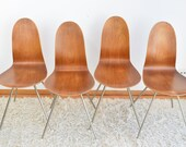 Arne Jacobsen, First Edition FH 3106 Tongue Chair, 1955.