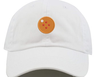 59388ca7c92e71 Top Level Apparel 4 Star Logo Embroidered Low Profile Soft Crown Unisex  Baseball Dad Hat (FREE SHIPPING)