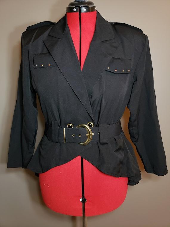 1980s 3 pc Power Skirt Suit
