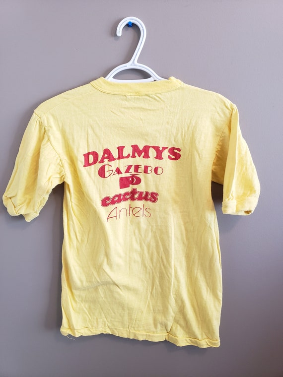 Vintage NEVER WORN 1970s Dalmy's Store Tshirt