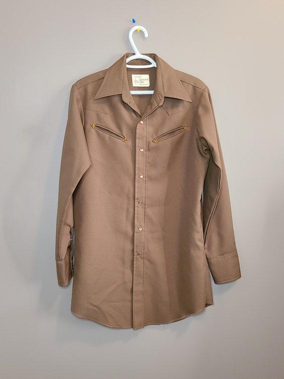 Vintage 1980s MWG Pheasant Hunt Chamois Shirt