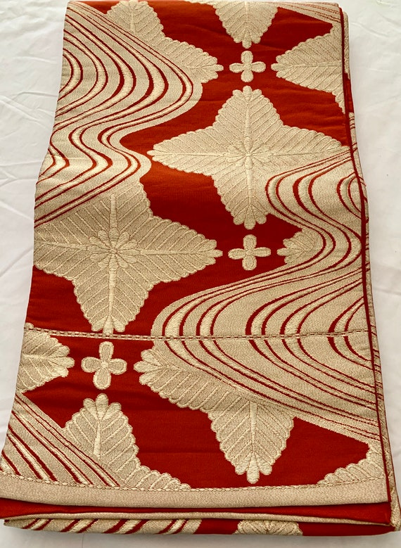 Japanese Kimono Fukuro Obi Obi Sash Kimono Obi Kimono BeltKimono Sash