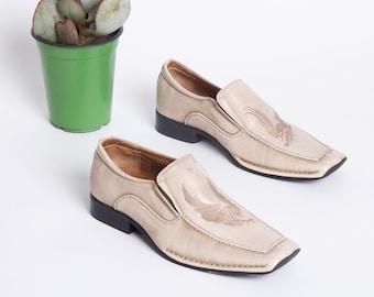 5a1b5da06a359 Cream loafers   Etsy