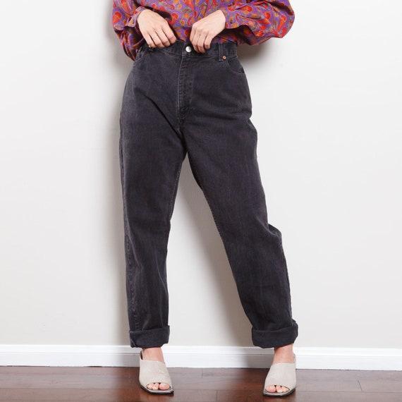90s Black 550 Levi's Jeans - image 2
