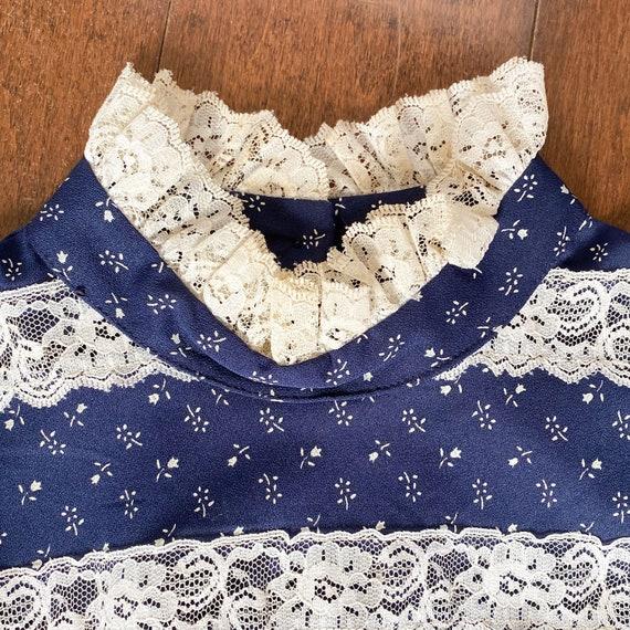 Vintage Western Midi Dress - image 6