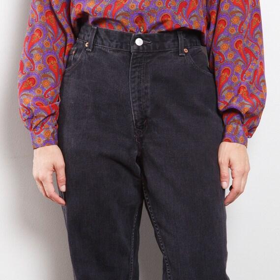 90s Black 550 Levi's Jeans - image 4