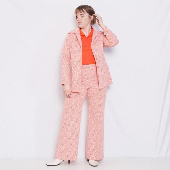 70s Flower Power Suit