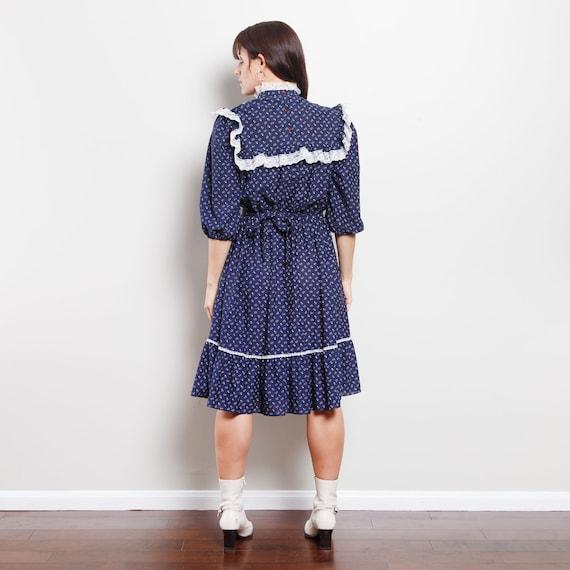 Vintage Western Midi Dress - image 3