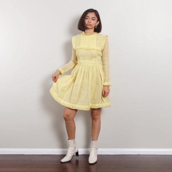 50s Antique Peasant Dress