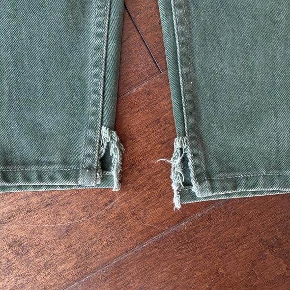 Vintage Green 550 Levi's Jeans - image 5