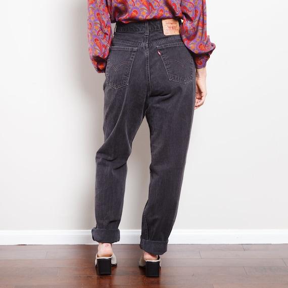 90s Black 550 Levi's Jeans - image 3