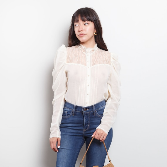 Victorian Style Jessica's Gunnies Lace Top
