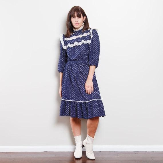 Vintage Western Midi Dress - image 2
