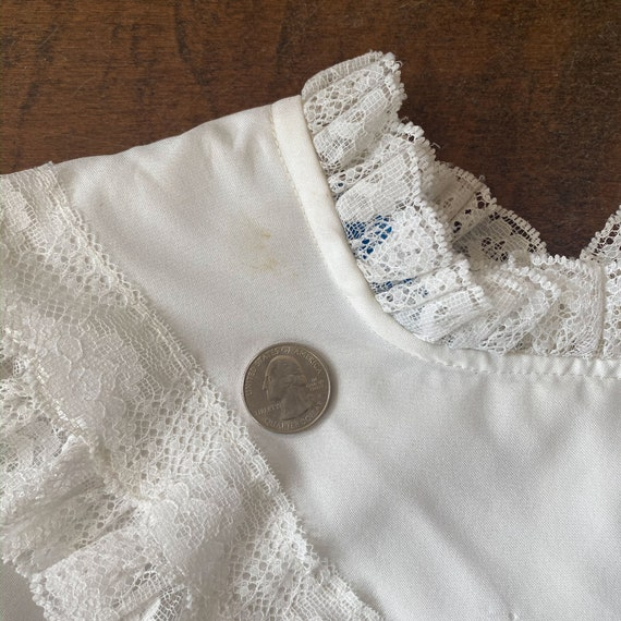 70s/80s Victorian Style Blouse - image 6