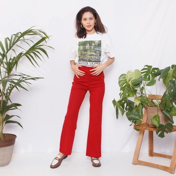 60s/70s Red Sears Pants