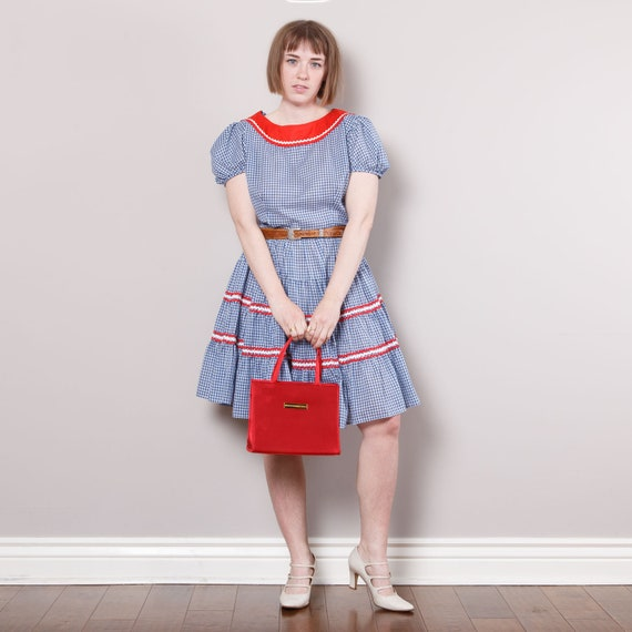 Vintage Sears Rockabilly Dress