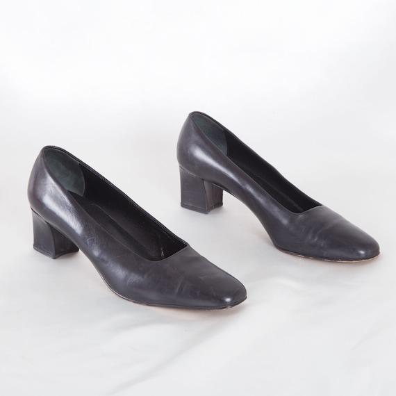 Vintage Italian Black Mary Janes