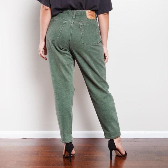 Vintage Green 550 Levi's Jeans - image 3