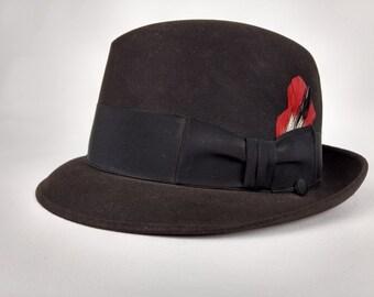 8a0f142202223 Vintage Charles Knox Felt Hat
