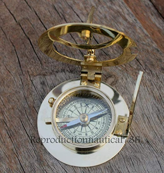 Solid Brass Antique Vintage Nautical Maritime Astrolabe Marine GIFT-ASTROLABE