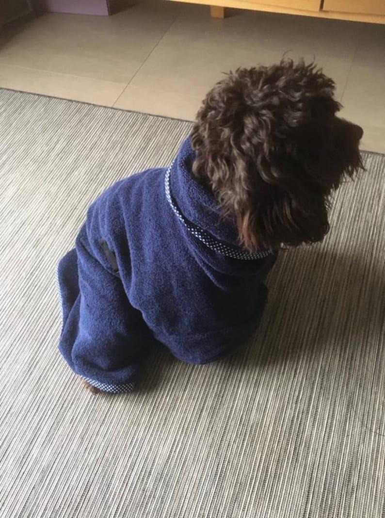 Dog Towel Robe Dry Coat No Splash