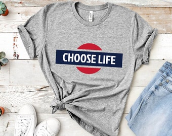 20eec68a Choose Life Shirt   Vintage Pro Life Unisex T shirt - Wham, Choose Love,  Choose Kindness, Choose Life